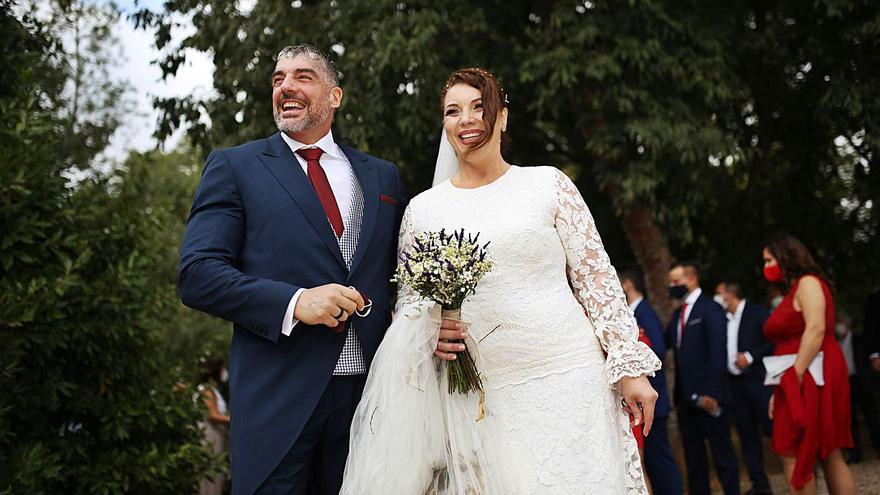 Neus y Joaquín sellan su unión matrimonial