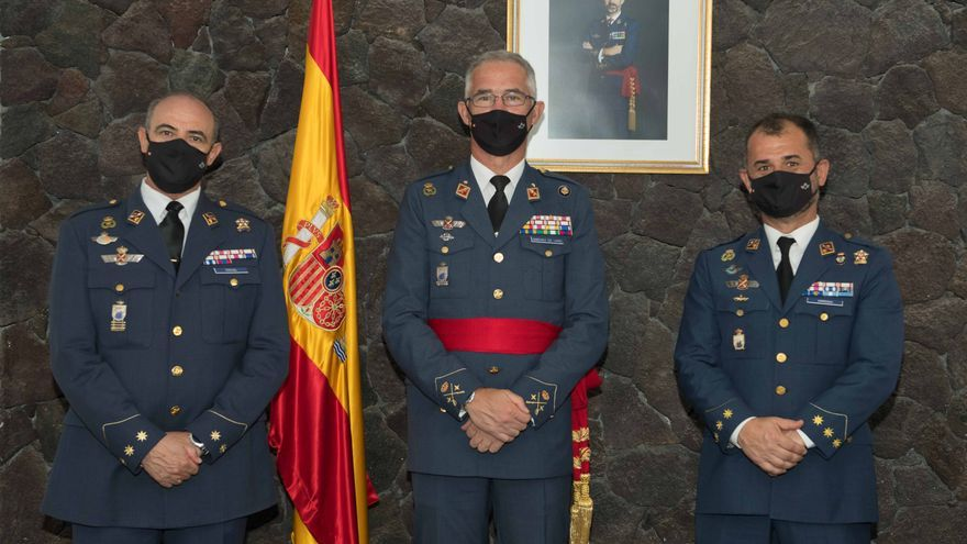 El coronel Teruel toma posesión como jefe del Aeródromo Militar de Lanzarote