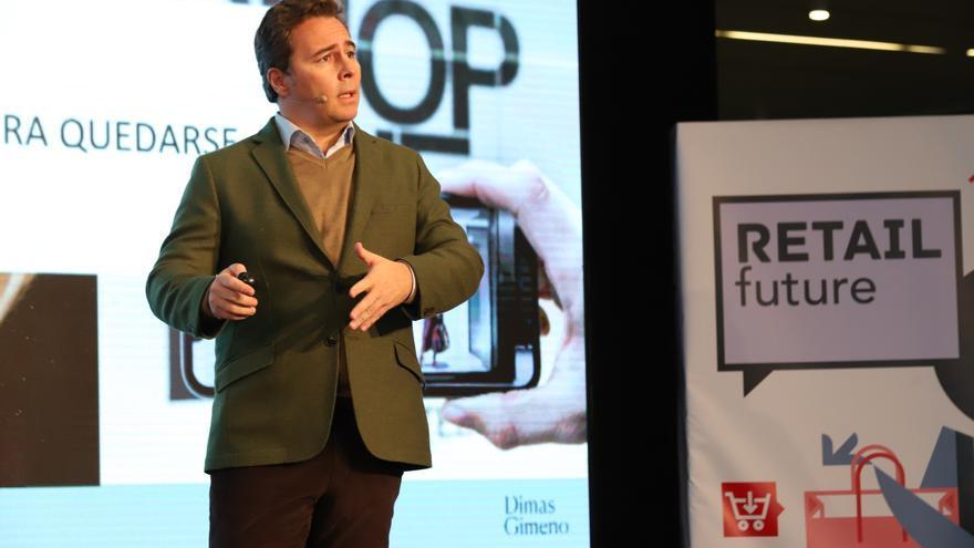 """Dimas Gimeno: """"Las tiendas están más vivas que nunca pero se tienen que reinventar"""""""