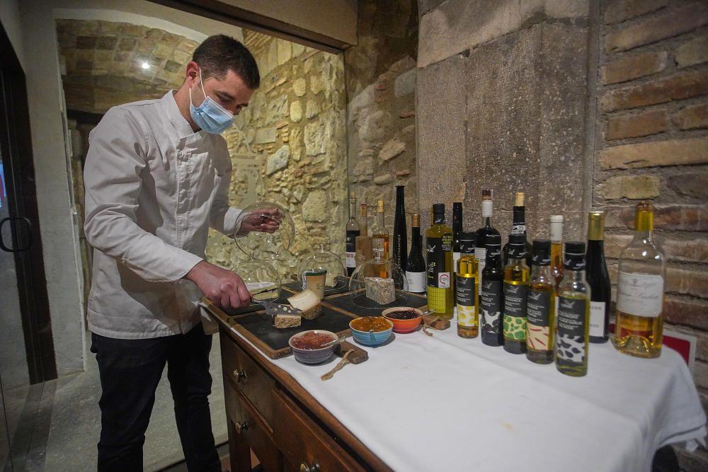 L'estudi Obrir Girona arranca reobrint cinc restaurants en torn de nit