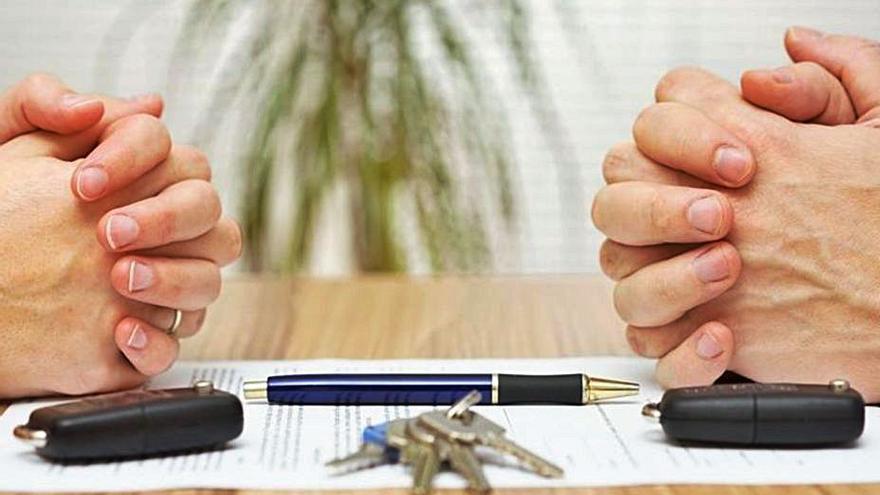 La prisa por divorciarse en plena pandemia lleva a 500 parejas al notario