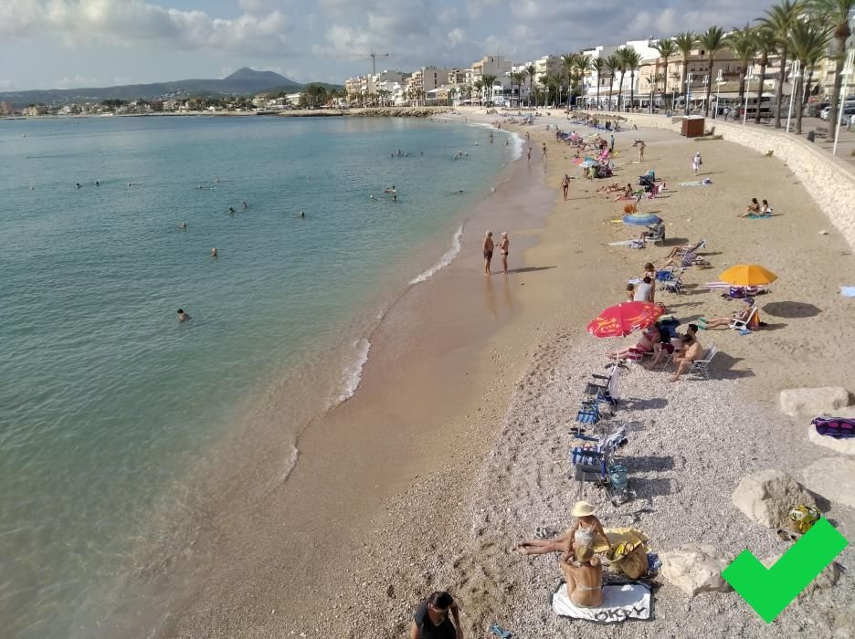 Playa del Arenal. Xàbia.