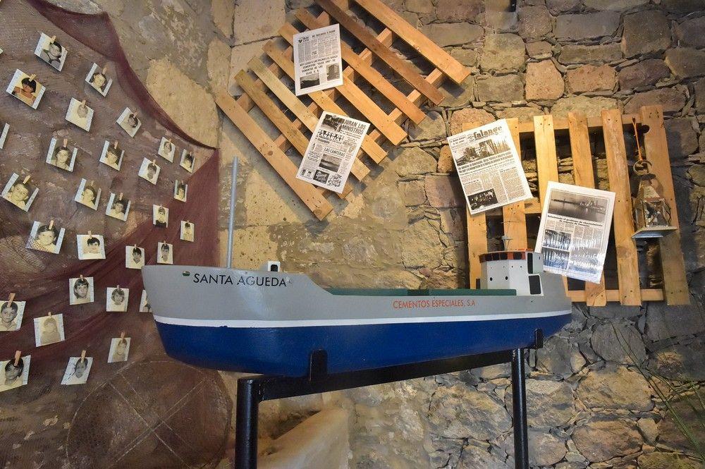 Exposición de la cementera CEISA
