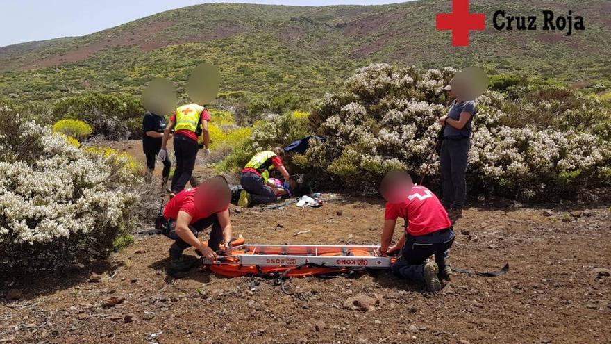 Un senderista ingresa en estado grave tras sufrir un síncope en Tenerife