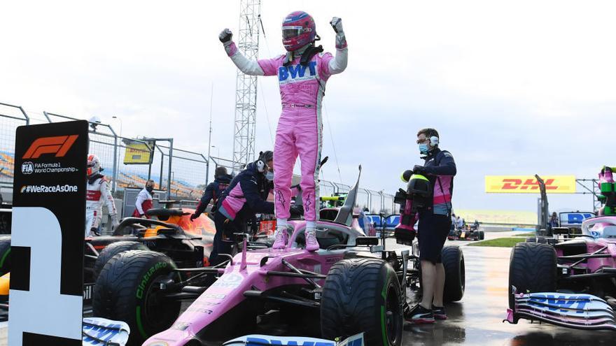 Stroll logra la primera pole de su carrera en Turquía