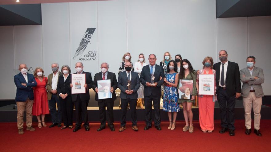 """Los astilleros Armón y Gondán reciben el premio del """"Asturiano del mes"""""""