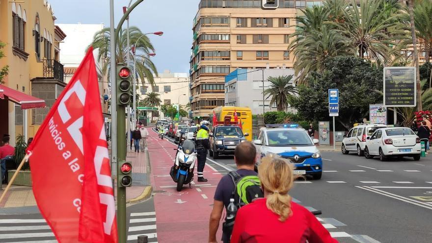 Los sindicatos cifran en el 85% el seguimiento de la huelga de Correos en Canarias