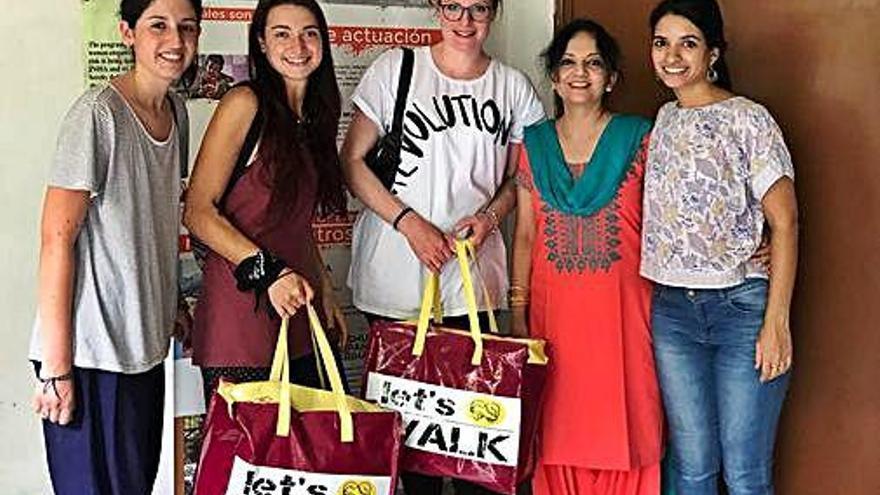 L'Associació figuerenca Let's Walk porta sabates a sis països durant el 2018