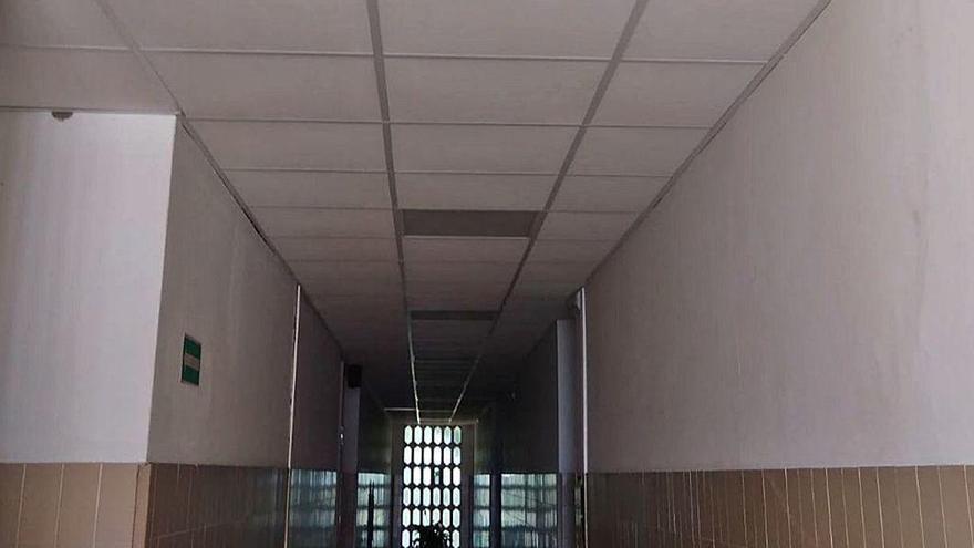 Moaña acaba con la fibra de vidrio en los colegios