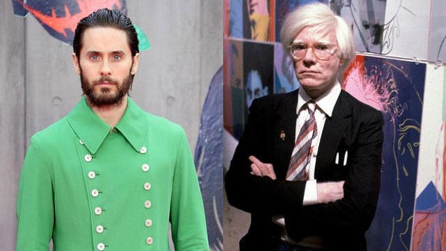 Jared Leto será Andy Warhol en un nuevo biopic del artista