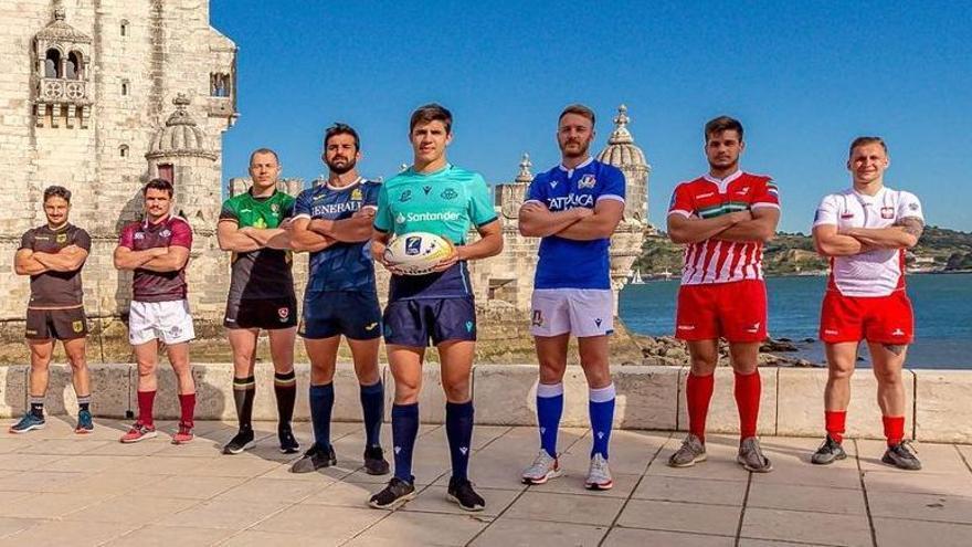 La España de Javier de Juan gana en Lisboa la primera etapa del Europeo de rugby 7