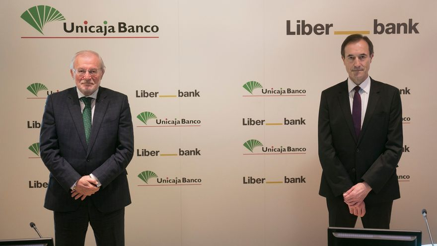 Unicaja y Liberbank ya cotizan juntas en la bolsa