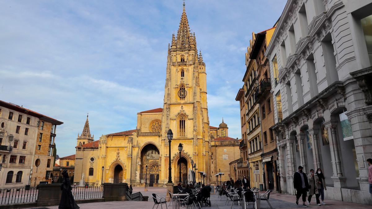 La Catedral d'Uviéu.
