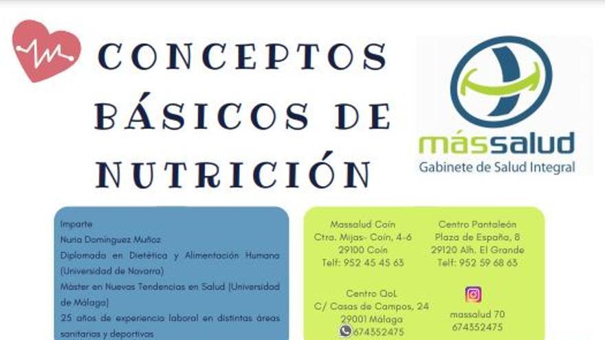 Taller conceptos básicos de nutrición