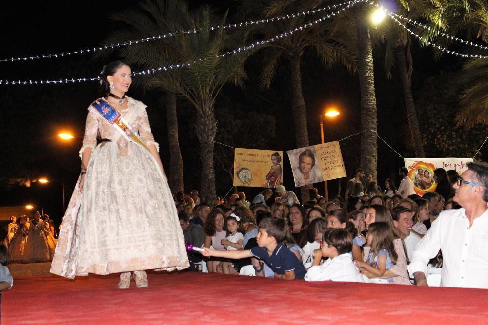 El desfile de la corte mayor. Paula Ortiz