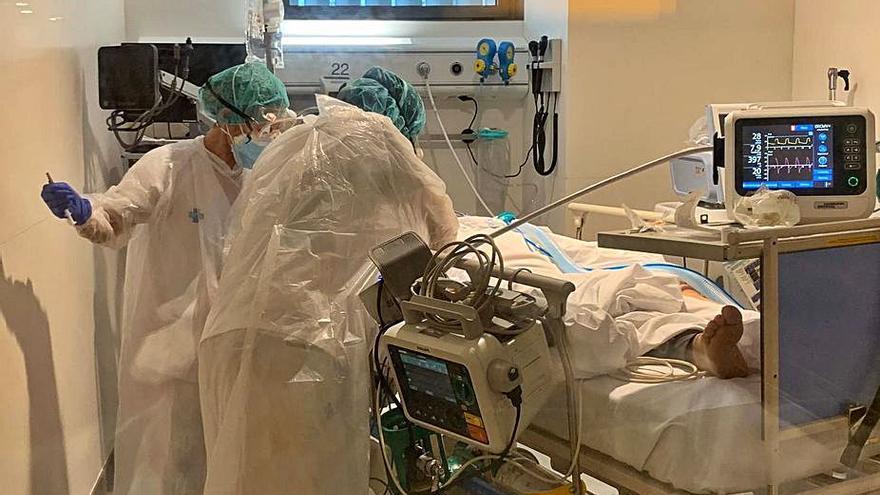 El Trueta atén un 21% més  de pacients amb risc vital l'any de la pandèmia