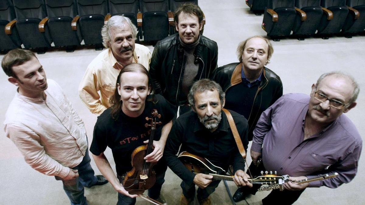 Milladoiro tocará el domingo 22 en el 'Folk Fest Región de Murcia'.