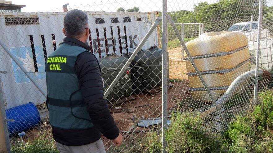 Un detenido por robar más de 1.000 litros de gasóleo bonificado en la Región