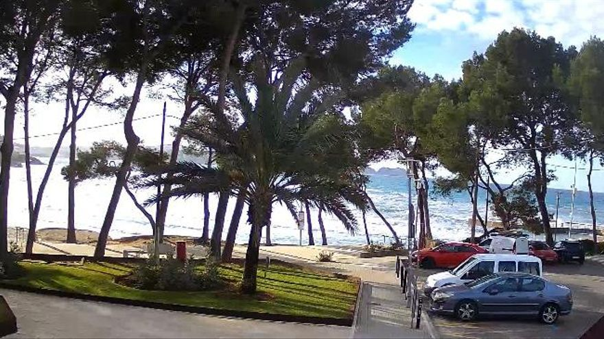 Warnstufe Gelb wegen Wind und hohen Wellen auf Mallorca
