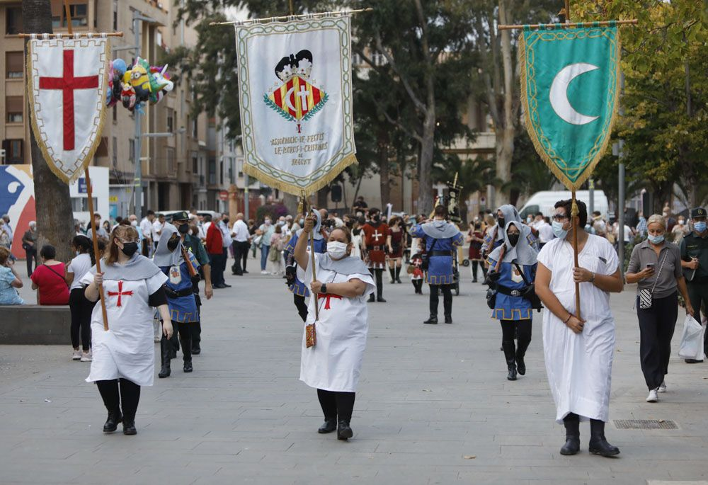 Día del Alardo en los Moros y Cristianos de Sagunt.