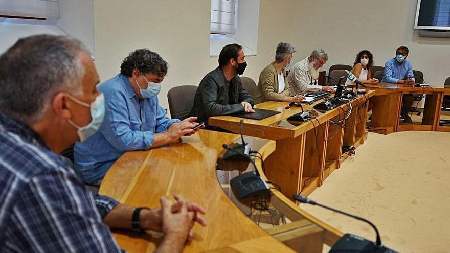 El BNG eleva al Parlamento una iniciativa para evitar el cese del bus entre Cruces y A Coruña
