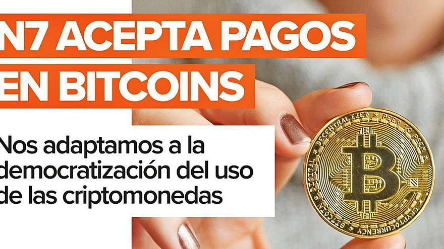 N7, una de las agencias del país que acepta pagos en Bitcoin