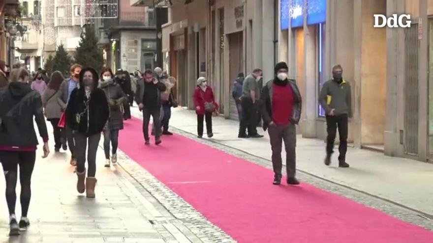 Indignació i laments entre el sector comercial de Girona