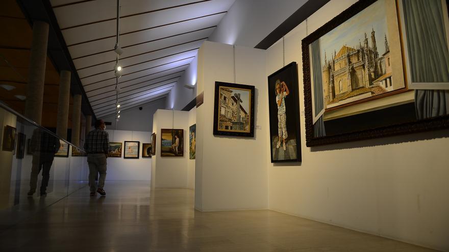 Donarán a La Palma la mitad de la venta de cuadros en Plasencia