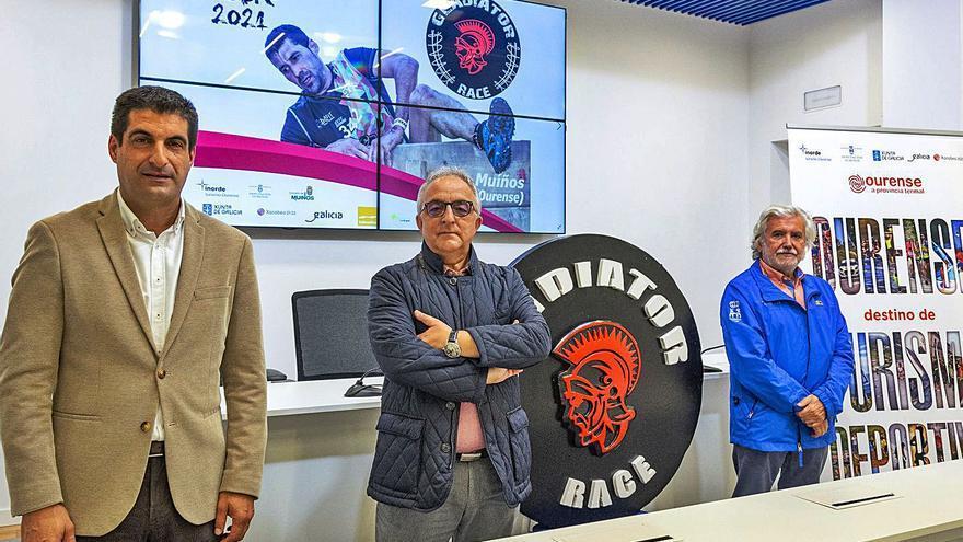 La única 'Gladiator Race' de España se disputa en Muíños