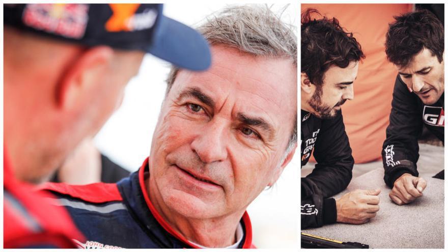 Carlos Sainz comença fort i Fernando Alonso s'estrena onzè en l'inici del Dakar