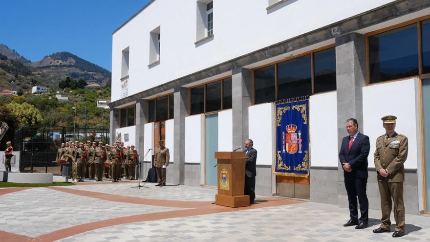 San Mateo homenajea  a las Fuerzas Armadas con una plaza en el centro urbano