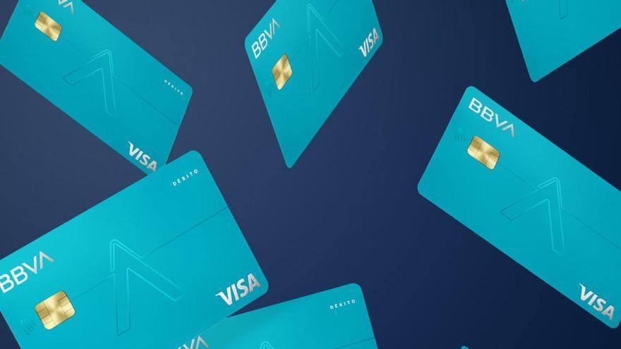 El BBVA emite 196.000 tarjetas Aqua desde octubre