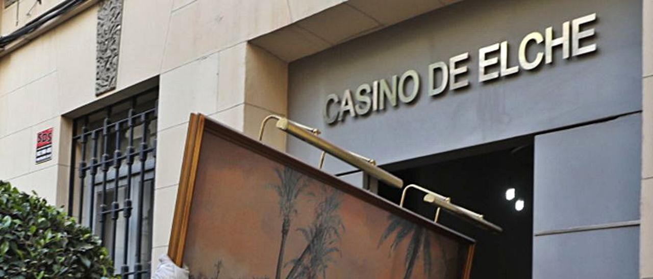 Desmontaje de la sede del Casino a finales de diciembre