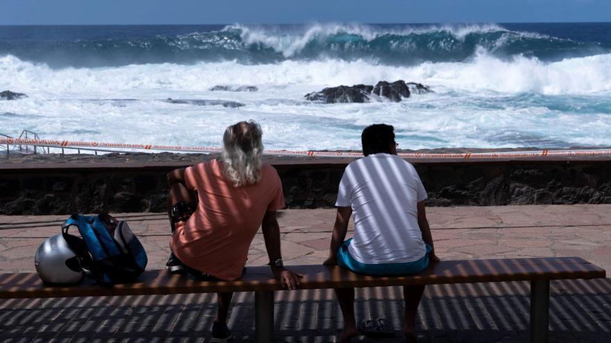 Finaliza la situación de alerta por fenómenos costeros en Canarias