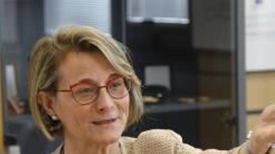 La rectora de la UJI, Eva Alcón, vicepresidenta de la Xarxa Vives d'Universitats