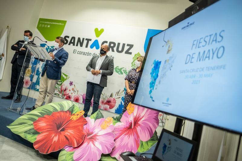 Presentación de la programación de las Fiestas de Mayo de Santa Cruz 2021