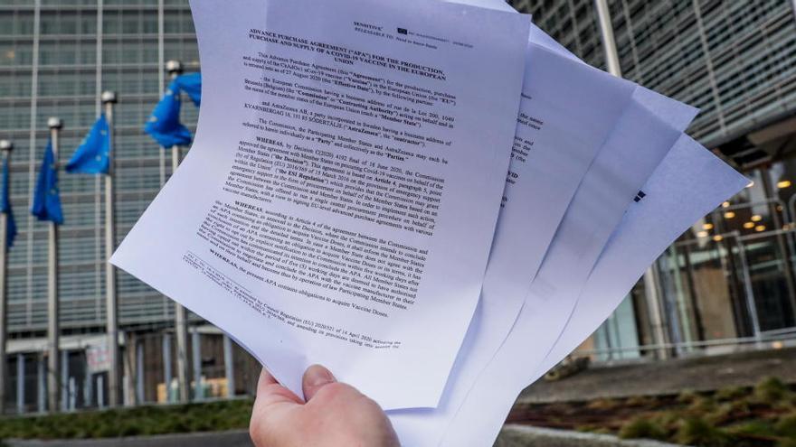 Bruselas pagó unos 870 millones de euros a Astrazeneca por las vacunas