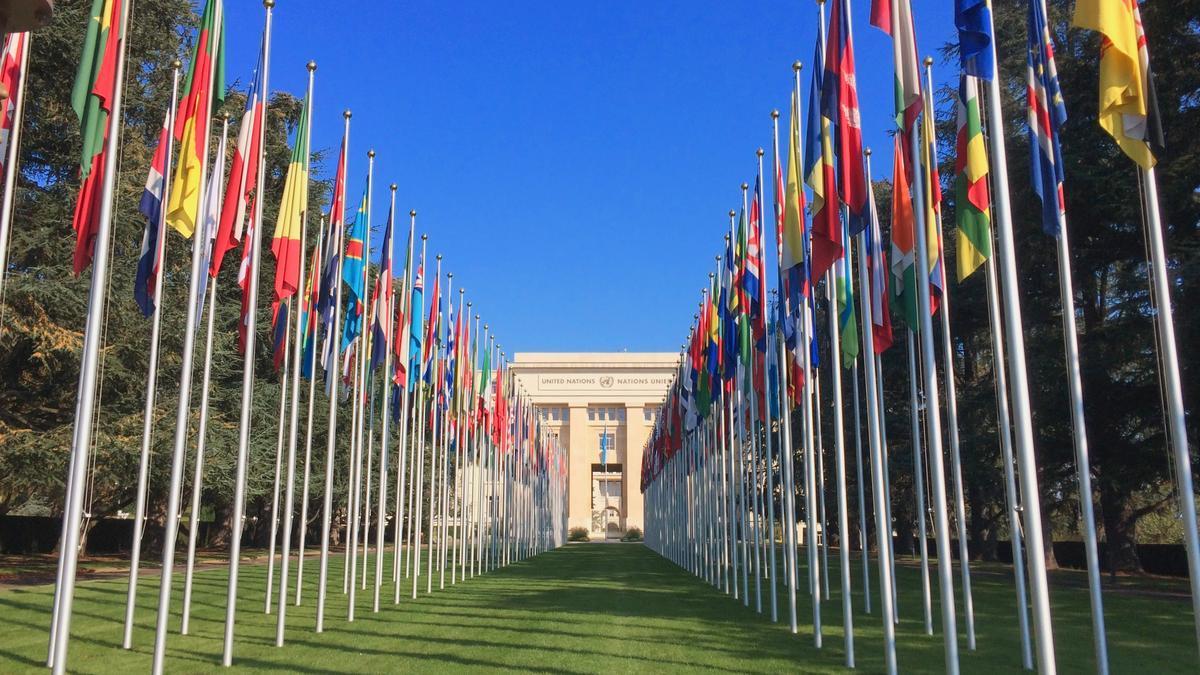 Sede Naciones Unidas en Ginebra.
