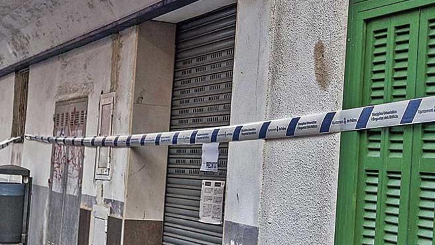 Psicosis de derrumbe en Palma