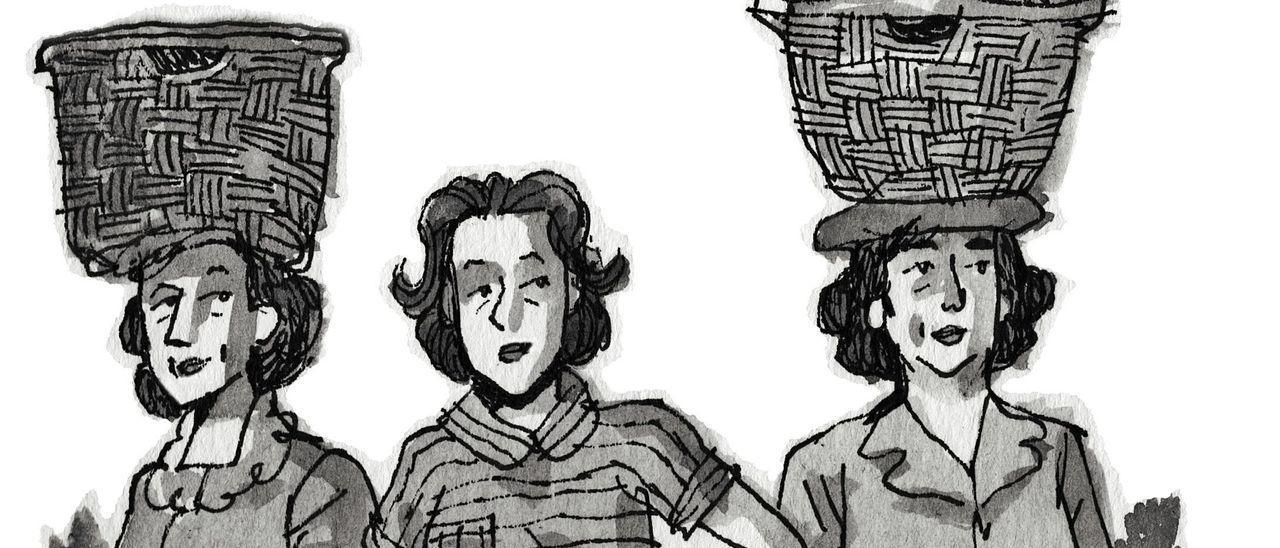 """Una de las  ilustraciones de """"carboneras""""."""