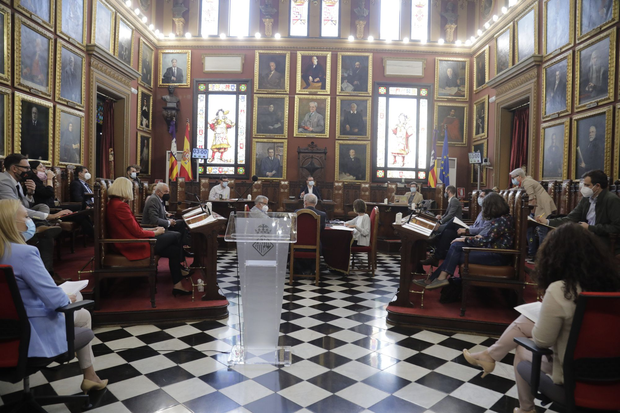 Mari Paz Pérez ha tomado posesión de su acta de concejala de Cort