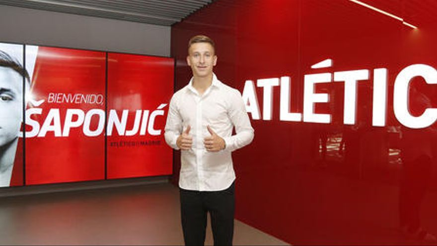 El Atlético ficha al serbio Ivan Saponjic por tres temporadas