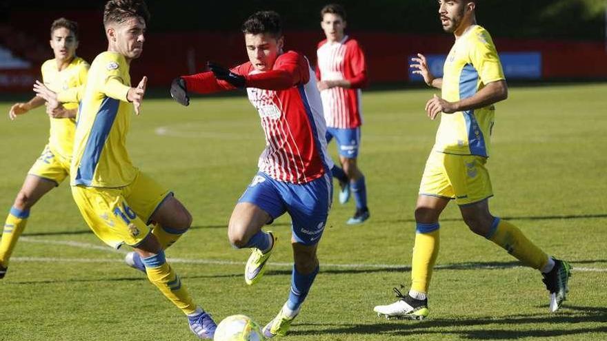 El Sporting B, a sumar por cuarta jornada consecutiva