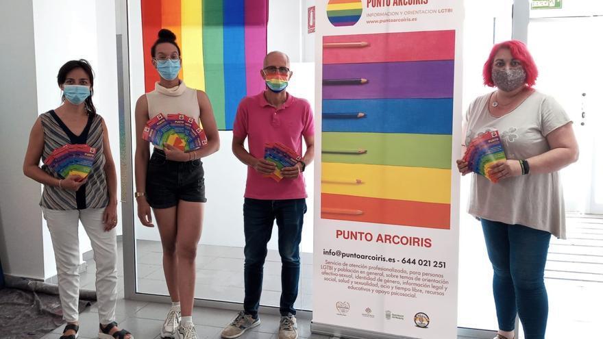 """El Punto Arcoíris de San Vicente celebra una charla-coloquio sobre """"sexualidades diversas"""""""