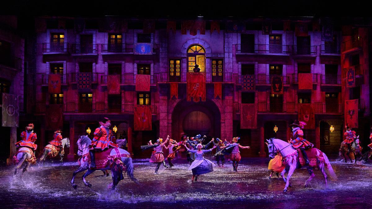 'El sueño de Toledo', estrenado en 2019, mantiene sus funciones nocturnas al aire libre