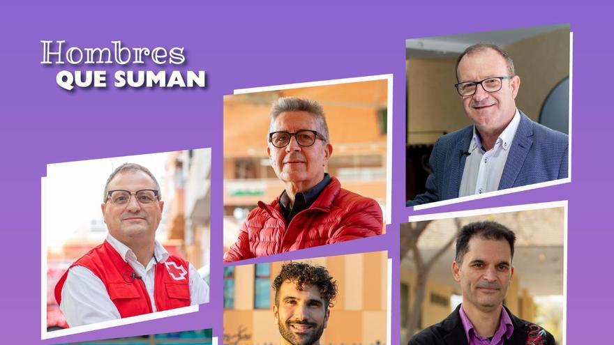 """Críticas a la campaña de Elda contra la violencia de género: """"7 hombres y ninguna mujer"""""""