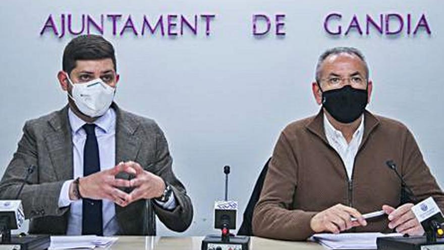 Gandia cierra las ayudas Parèntesi con 501 solicitudes
