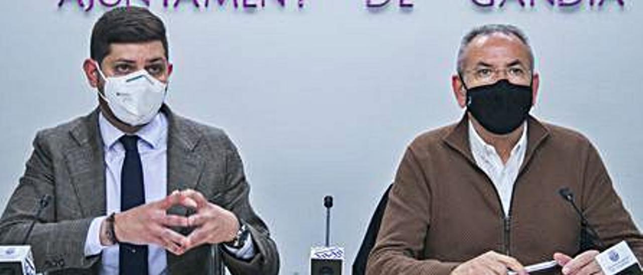José Manuel Prieto y Ferran Martínez.