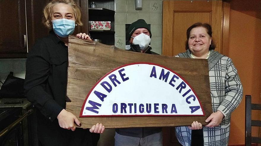 """El """"Madre América"""", para siempre en Coaña"""