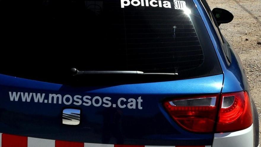 Un ferit lleu en un accident a l'A-2, a Esparreguera